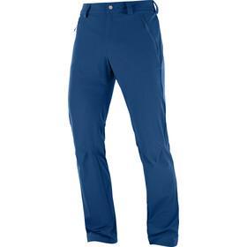 Salomon Wayfarer Straight LT Spodnie Mężczyźni niebieski